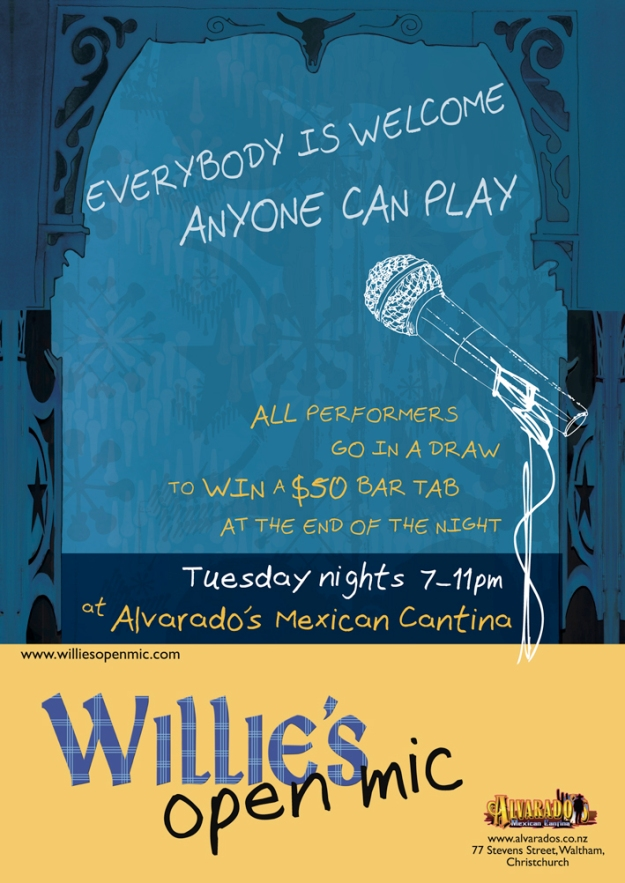 Event poster © 2012 Willie McArthur