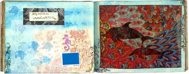 Anna Cull book underwater