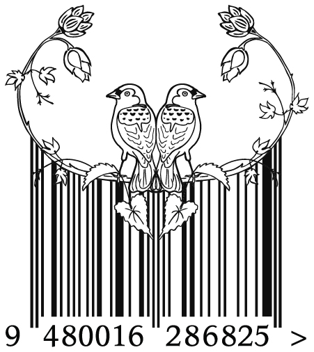 Barcode design – student project – 2011, Design & Arts College graphic design diploma