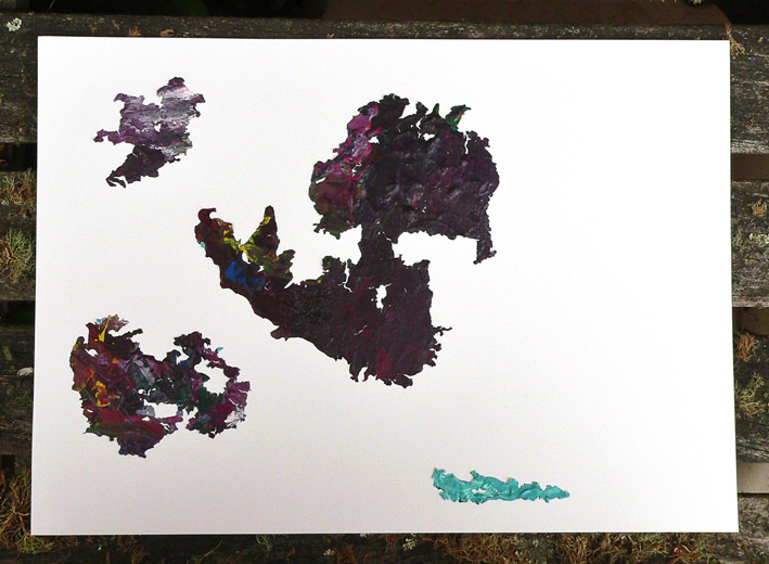Acrylic Islands, 2013 – there be treasure buried here...