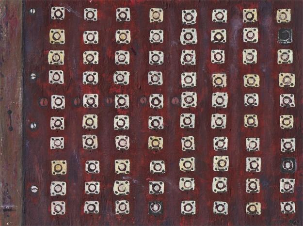 Random texture #2 – mixed media, 175 x 235 mm, 2013.