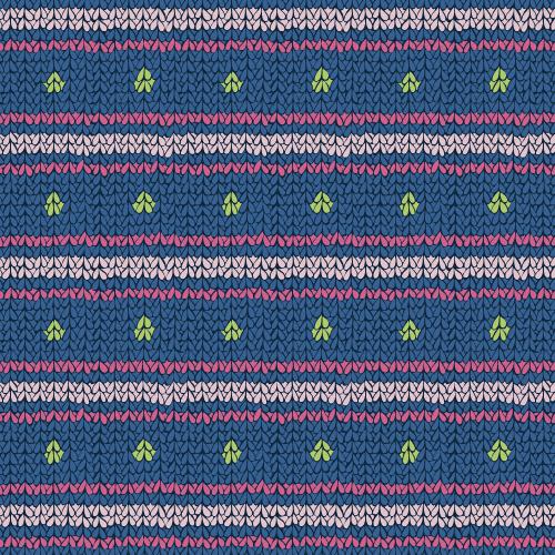 Cozy Knit (spots and stripes) #1 – surface pattern.