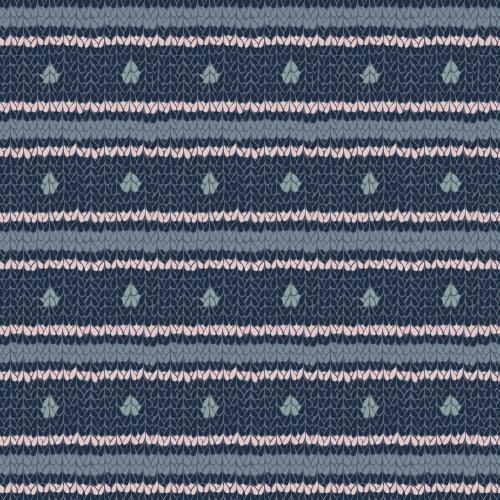Cozy Knit (spots and stripes) #2 – surface pattern.