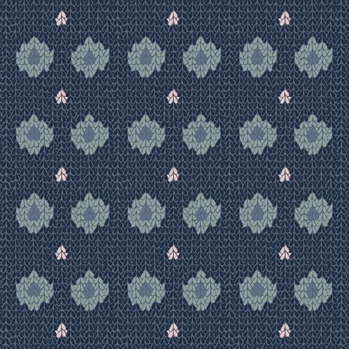 Cozy Knit (spots and stripes) #3 – surface pattern.
