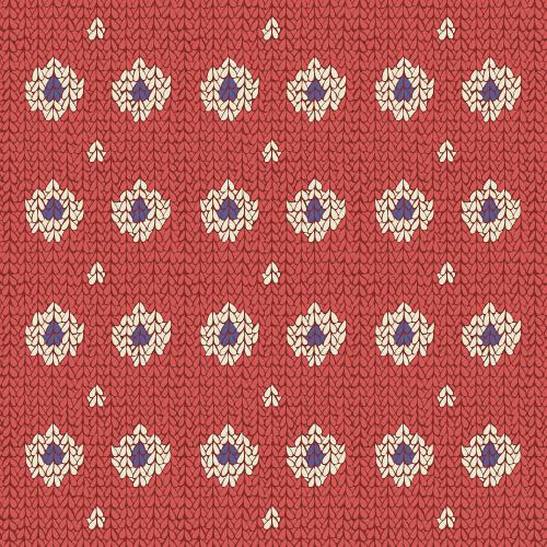 Cozy Knit (spots and stripes) #4 – surface pattern.