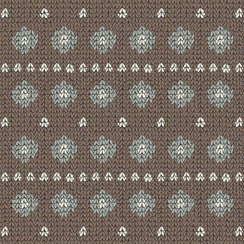 Cozy Knit (spots and stripes) #5 – surface pattern.