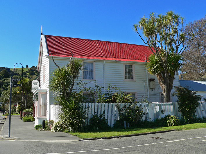 Windermere historic house, Rue Lavaud, Akaroa, 2012