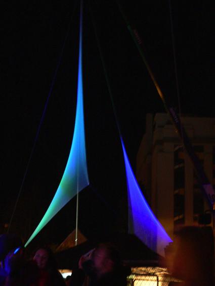 art architecture light installation Christchurch New Zealand