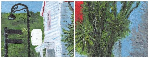 Windermere – dry brush acrylic details