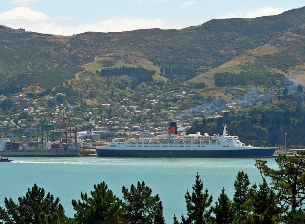 Lyttelton Port, original photo, 2007.