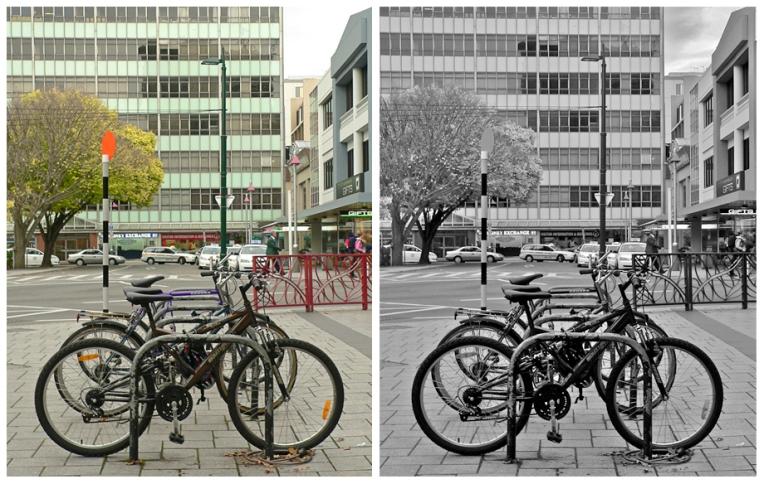 Bikes – Christchurch, 2010.