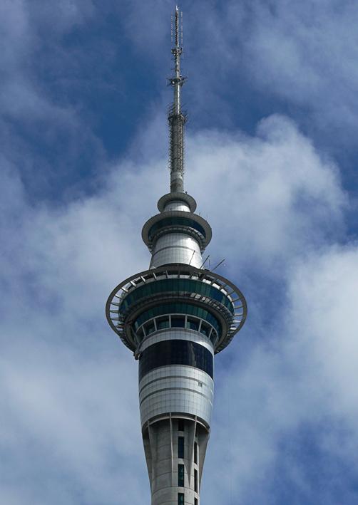 Sky Tower – Auckland, 2007.