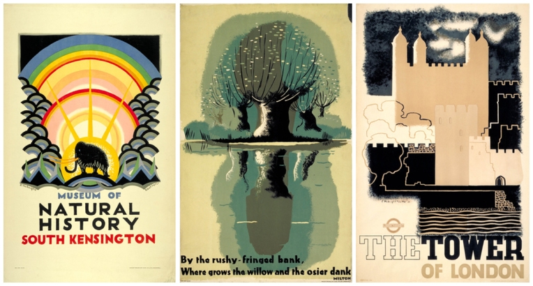 Posters from 1923,1932 and 1934  Images from www.pickmix.co.uk