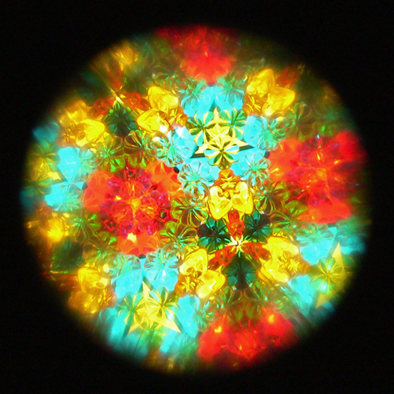 Kaleidoscope, original photograph, 2011