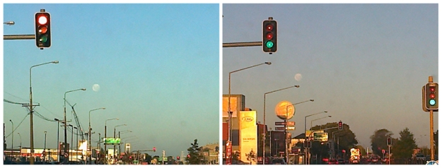 Moon over Moorhouse, Christchurch, 2013