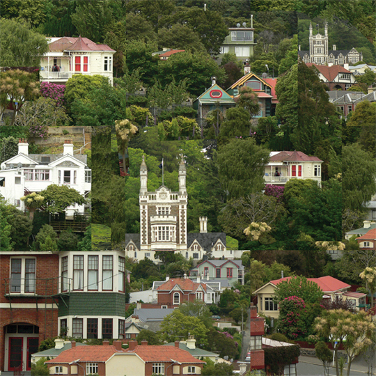 Dunedin, photo montage, 2013