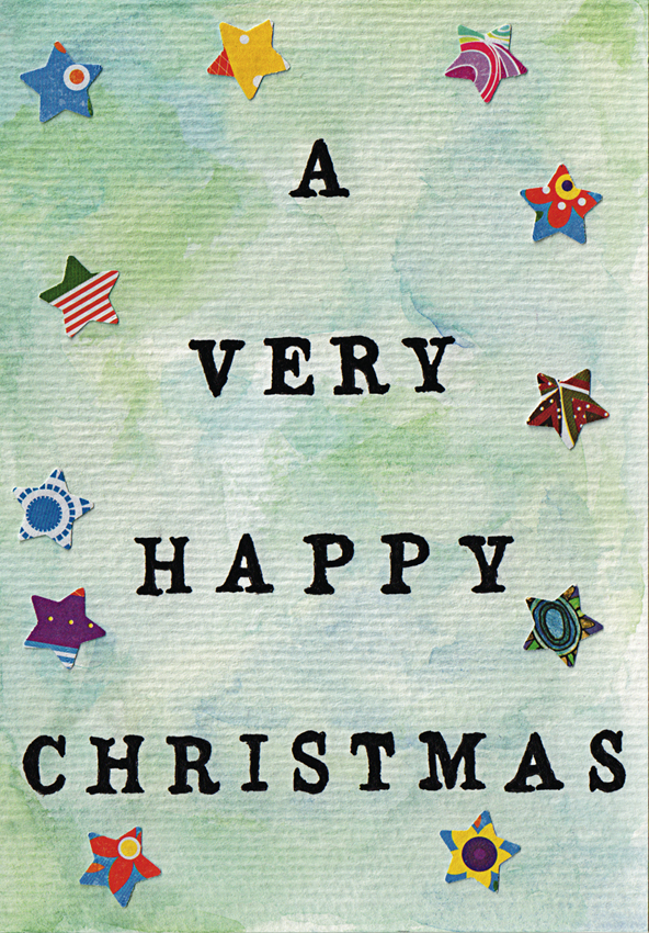 Anna Cull Happy starry Christmas