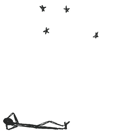 Anna Cull Stargazing doodle