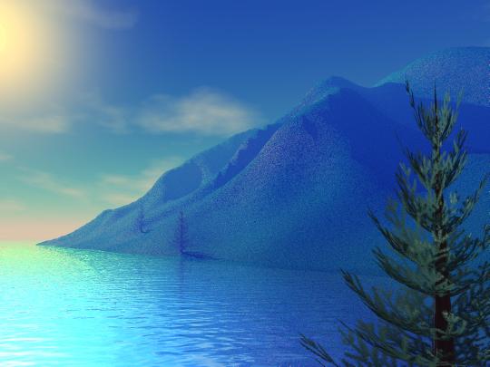 Bryce Island – digital, 2002