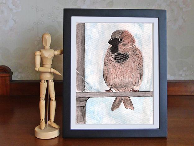 Anna Cull Little sparrow 2014