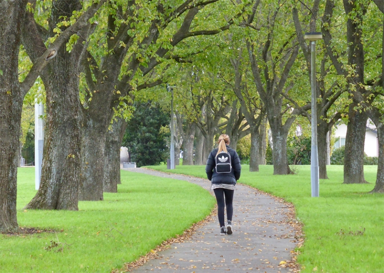 Anna Cull Autumn in the park 2014