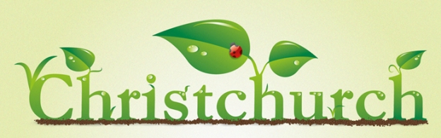 A green Christchurch — digital illustration, 2011