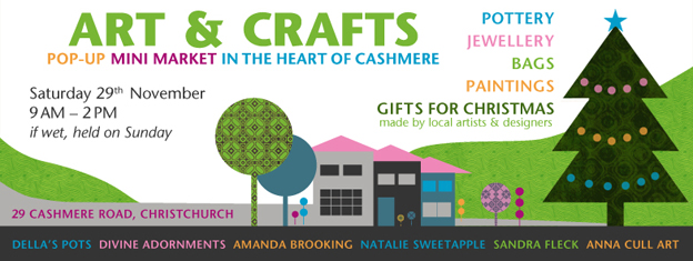 Art & Crafts pop-up mini market 2014