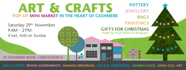 Art & Crafts poster design © 2014 Anna Cull