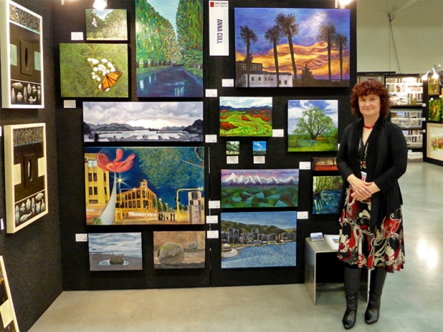 The Christchurch Art Show 2015, opening night