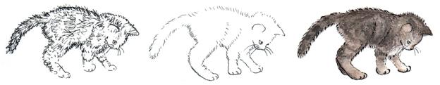 Kitten #1, 2012