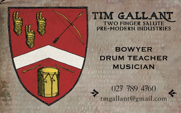 Tim Gallant logo and business card © 2013 Tim Gallant