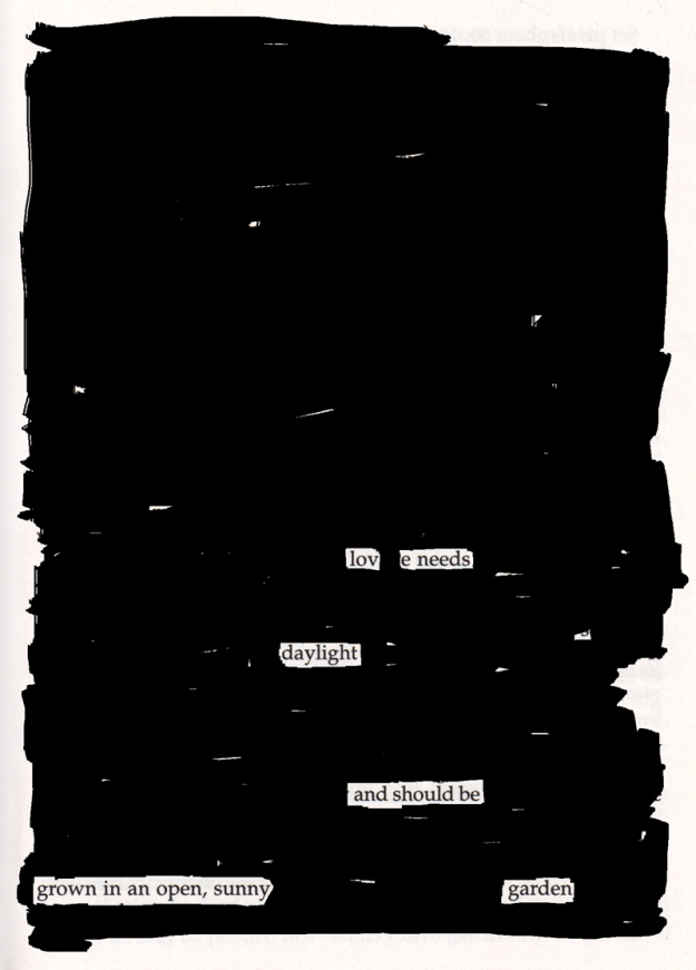 Blackout poem #2