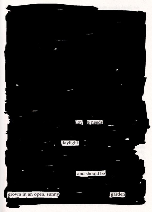 Blackout poem #2