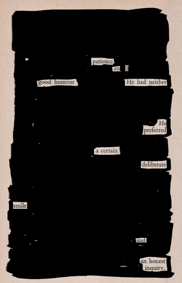 Blackout poem #3