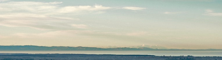 Kaikoura coast panorama, New Zealand — original photograph, 2013