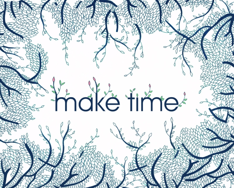 Make time, ink and digital, 2016