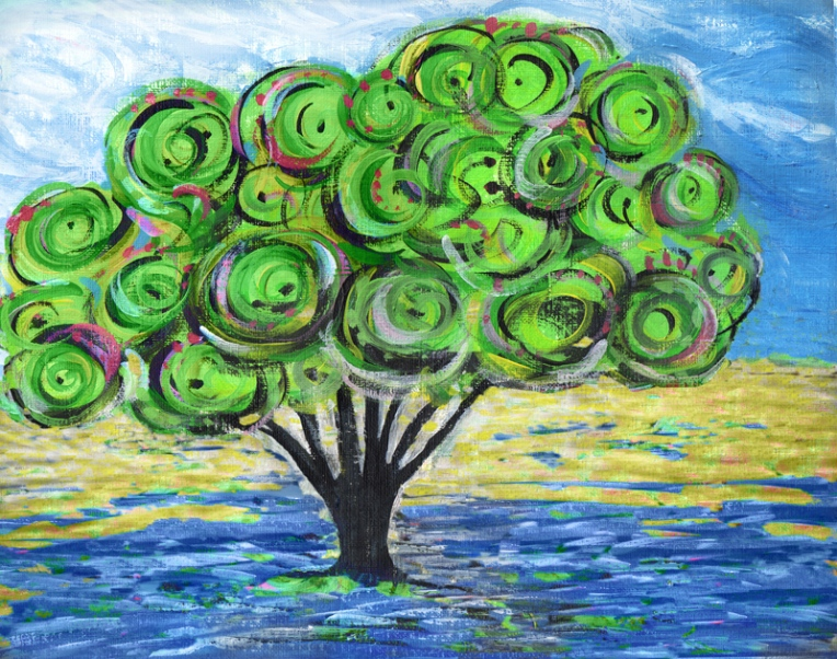 Tree – mixed media, 2016