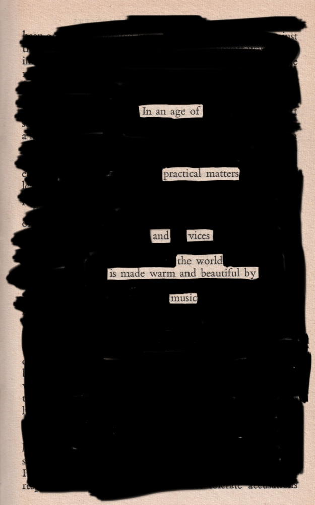 Blackout poem #4