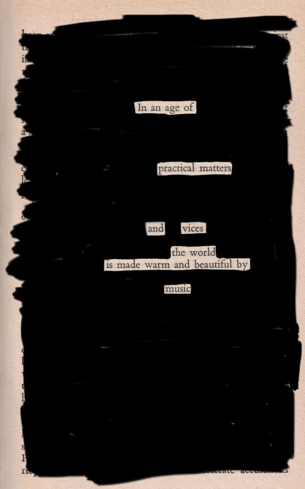 Blackout poem #4