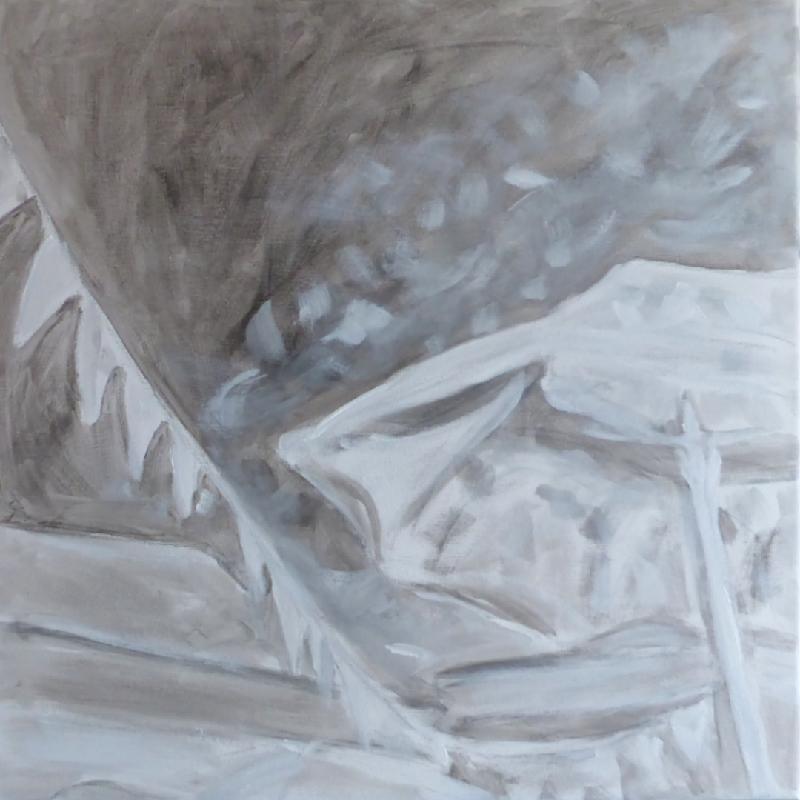 Work in progress, acrylic on canvas