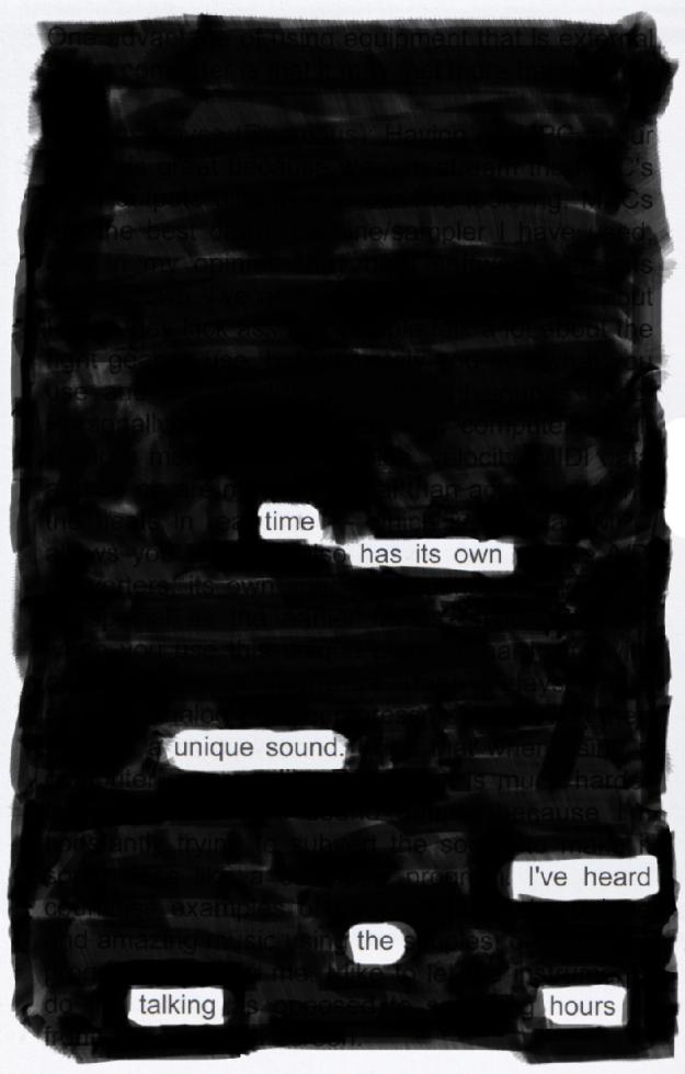 Blackout poem #8