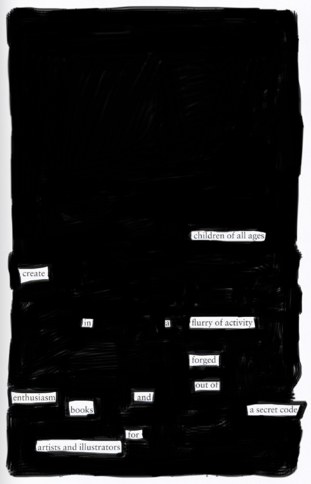 Blackout poem #9