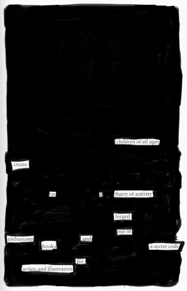 Blackout poem #9