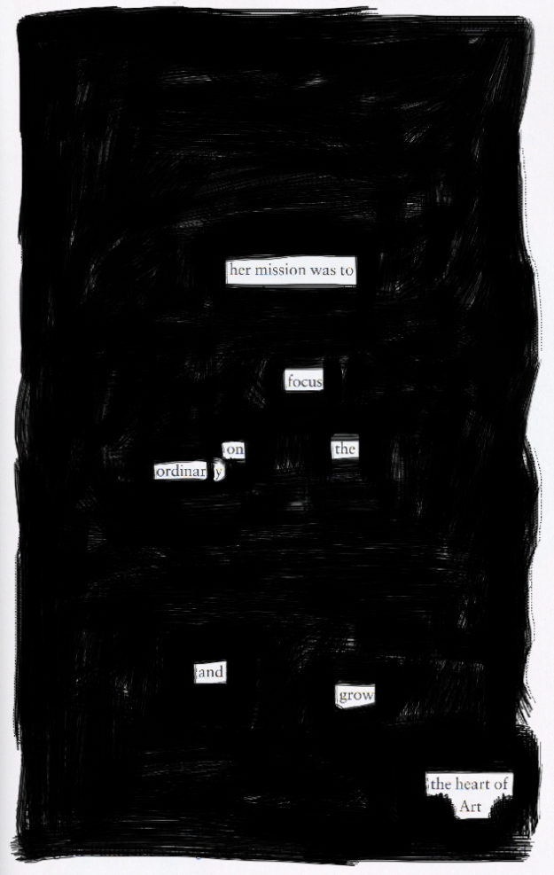 Blackout poem #10