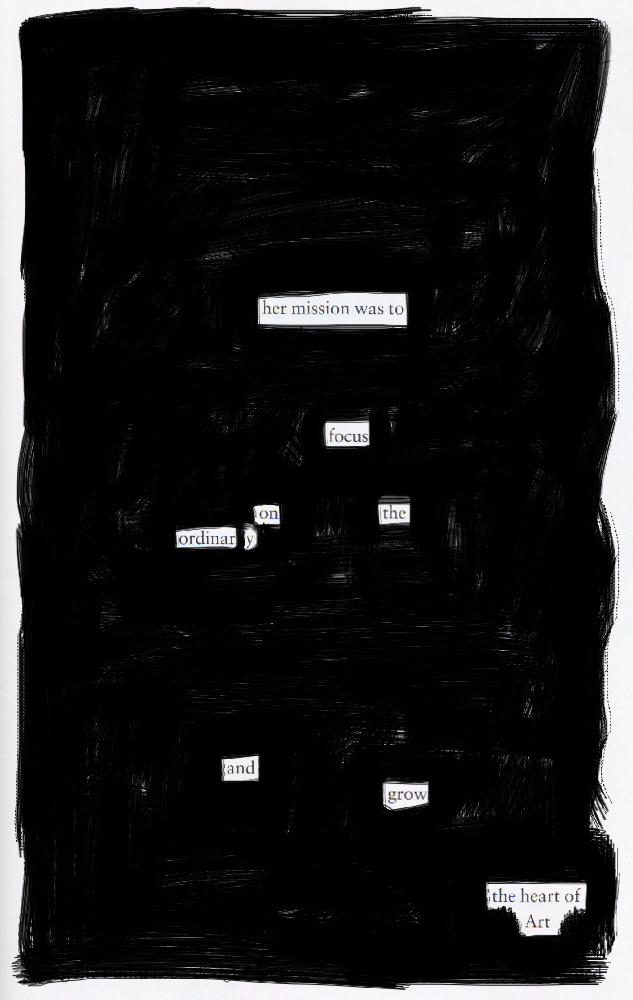 Blackout poem #10