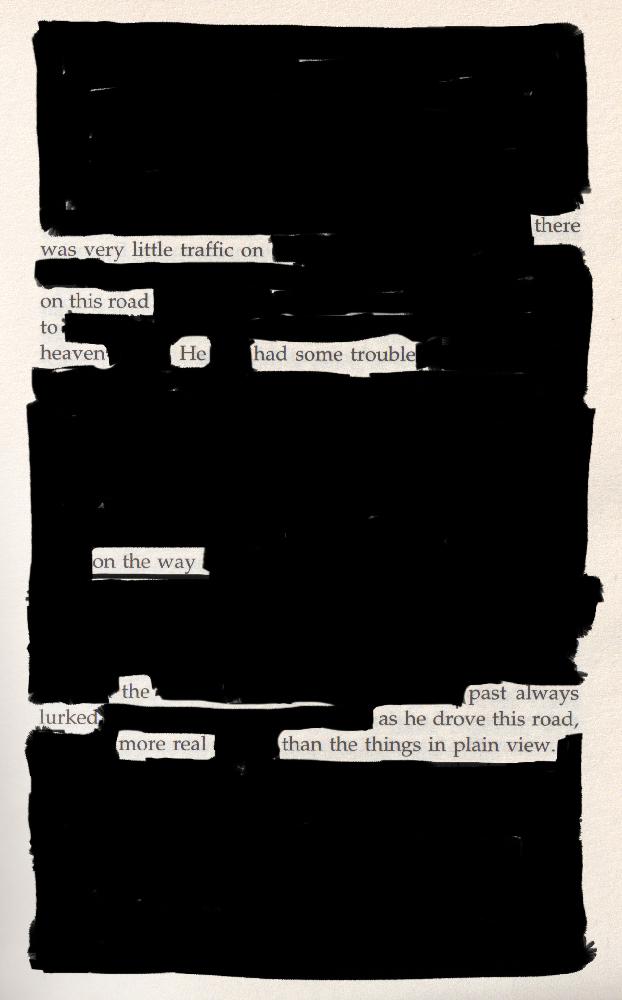 Blackout poem #11