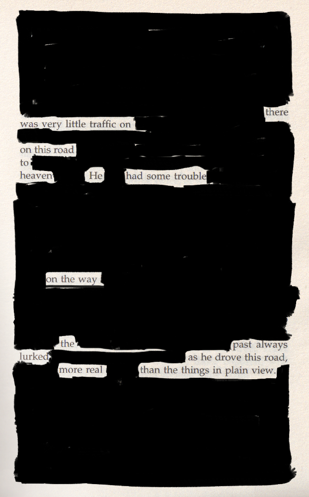 Blackout poem #11