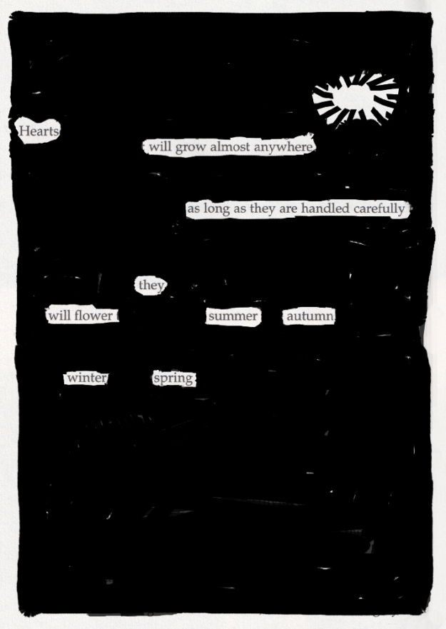 Blackout poem #13