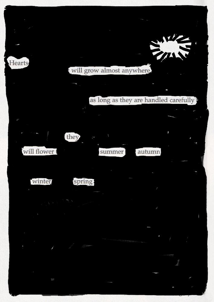 Blackout poem #13